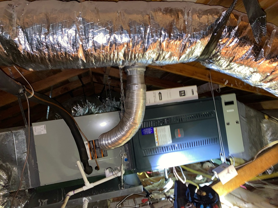 Fort Worth, TX - Heating repair Contractor today we had to do a heater repair on a trane gas furnace in the Crestwood neighborhood of Ft Worth