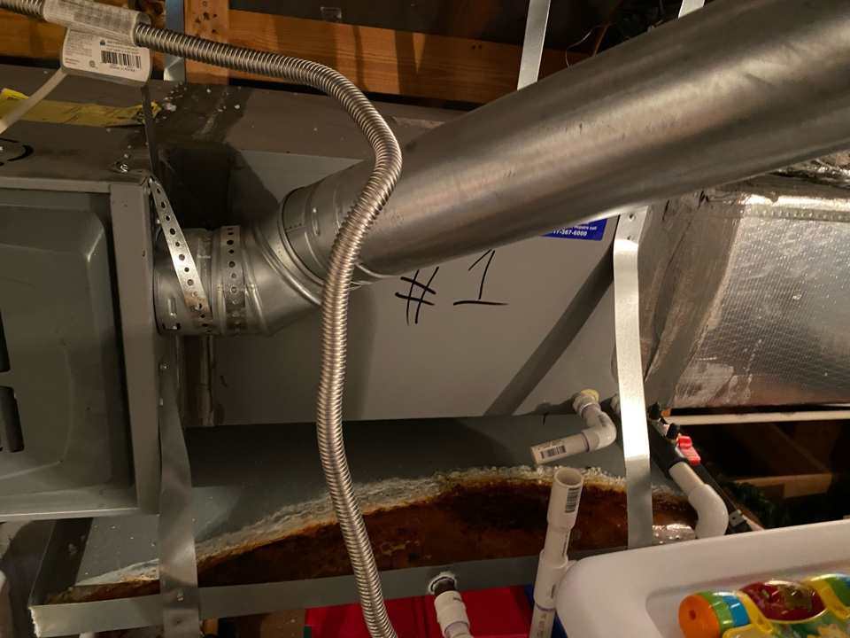 Fort Worth, TX - Heater repair it's that time of year people are firing up the heaters just got to repair in a gas furnace had to replace a hot surface igniter the heating system is back up and running perfectly