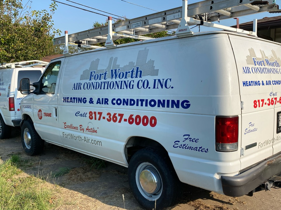 Fort Worth, TX - Heater and AC repair we service and repair AC systems heater systems gas furnaces we also provide maintenance on AC and heaters and tuneup services on air-conditioning and heating systems as well give us a call for any of your HVAC needs. Fort Worth AIr Conditioning Company   My name is Sonny Pewitt you can text me at 817-879-3800 or call the office at 817-367-6000