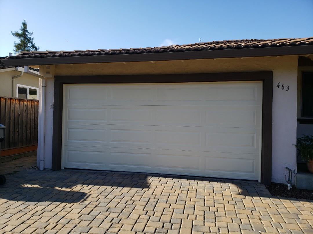 San Jose, CA - Install new garage door. 16x6'9 Amarr Stratford 3000 Liftmaster WLED