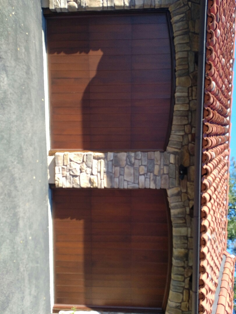 Los Gatos, CA - Service call onto wood garage doors