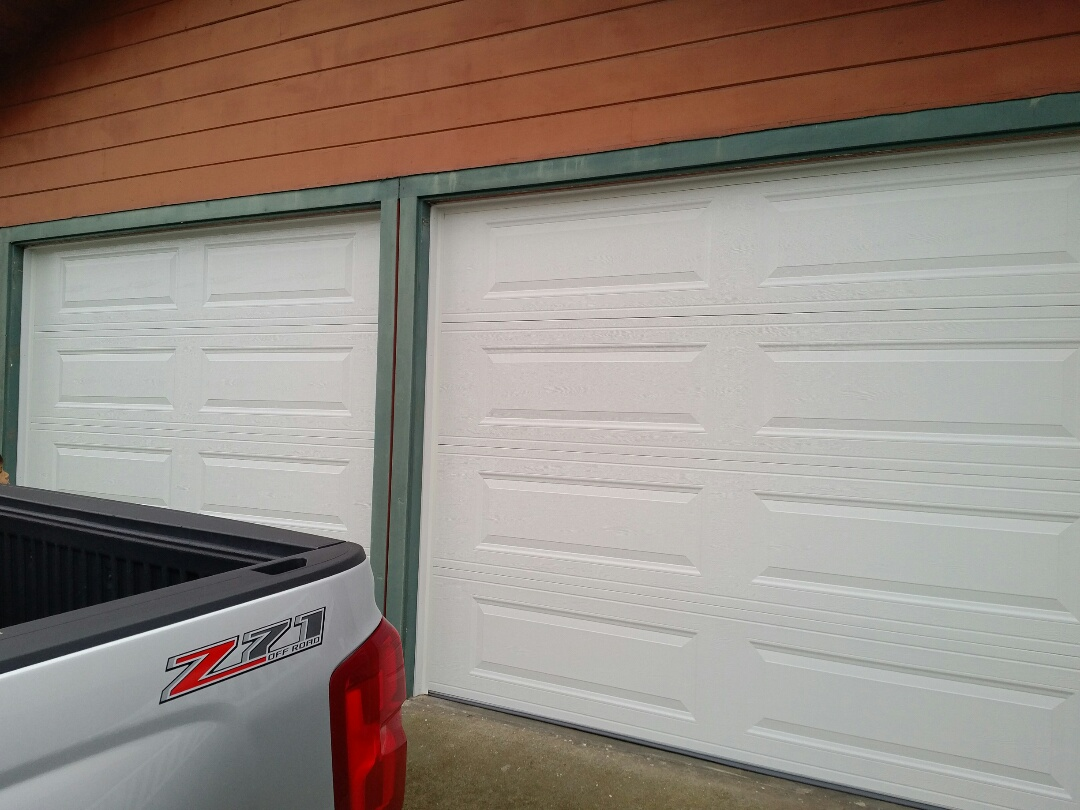 Pacific Grove, CA - Installed 2 new steel garage doors.   Our garage door installation is always professional and guaranteed.  That is why homeowners in Pacific Grove recommend us to friends and neighbors!