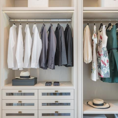 Custom Closets: It's also all about accessorizing your closet. Roll-out storage baskets, jewelry organizers, belt and tie storage racks, retractable dressing mirror, fold-out ironing board, shoe racks and cubbies for the closet bring a level of order that's hard to hide behind closed doors.   Find Out More Here : https://g.page/alpha-closets-and-murphy-beds?gm