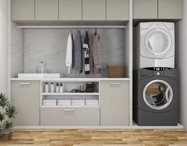 Custom Laundry Room Rosemary Beach FL:  A custom laundry storage will make it easier for you to do laundry. By organizing your space the right way, you'll have special places to store your laundry detergents, your ironing supplies and your other accessories.  Visit Here To Know More: https://alphaclosets.com/custom-laundry-storage/