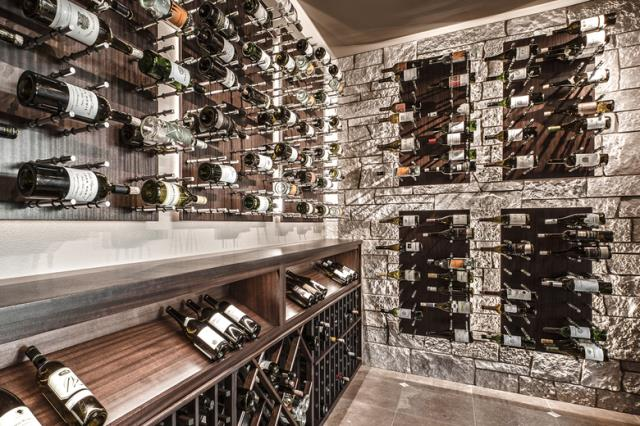 Custom Wine Racks Molino FL : Modern wine cellars are different than the well-known dark spaces filled with dusty bottles. Visit Us Here: https://alphaclosets.com/custom-wine-racks/