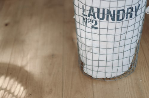 A custom laundry storage will make it easier for you to do laundry.