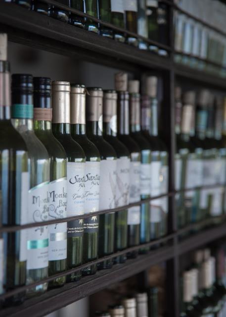 Let Alpha Closets Design Your Wine Cellar.
