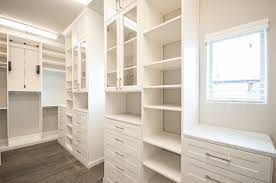 What Is A Custom Closet Made Of? - Many of the Custom Closets feature laminate systems, but this is not the poor-quality laminate that was used for kitchen counters back in the 70s and 80s.