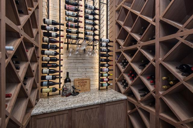 Everyone can design their wine racks to suit their home and their personal preferences.