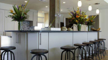 Declutter Your Kitchen With Custom Storage.