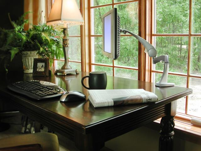 A home office is still one of the better remodeling investments and Custom Office Cabinets are one of the best ways to stay organized and to make your home look beautiful.
