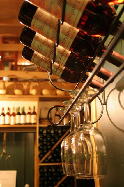 You can have a wall peg wine racking system, as it's trending!