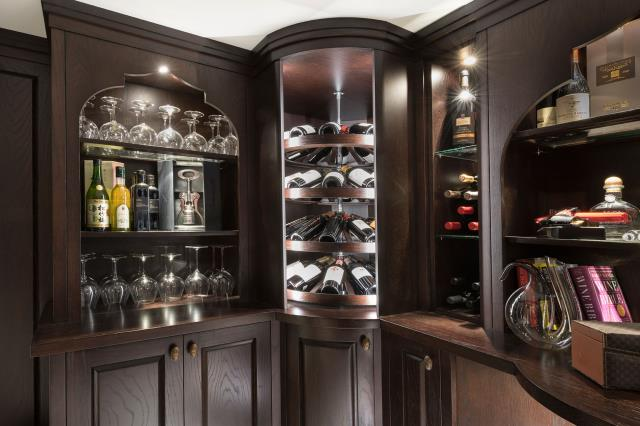 Select right positioning for your wine rack.