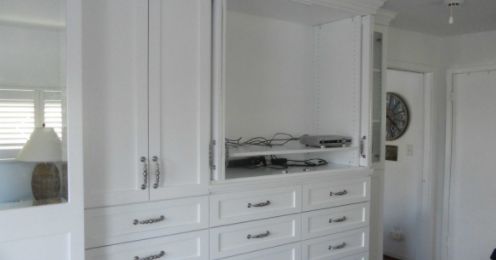 Space is expensive. You cannot waste the available space by installing just any cabinet in your room.