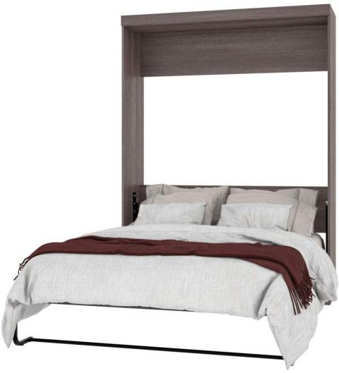 Murphy Bed will let you make use of most of the available space without creating a cluttered look.