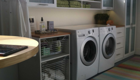 If you're ready to tackle this home improvement project, contact us today to talk about your creative ideas for organizing your laundry storage space.