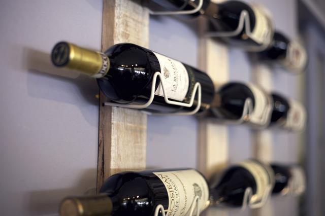 Miramar Beach, FL - Horizontal racks are the best for fulfilling wine storing needs.