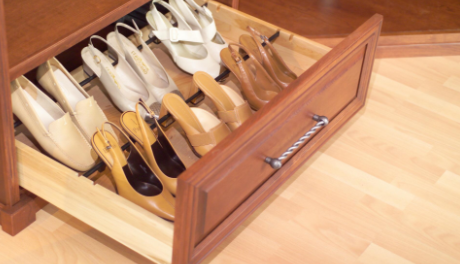 Our team can recommend the best type of closet for your home after inspecting the room.