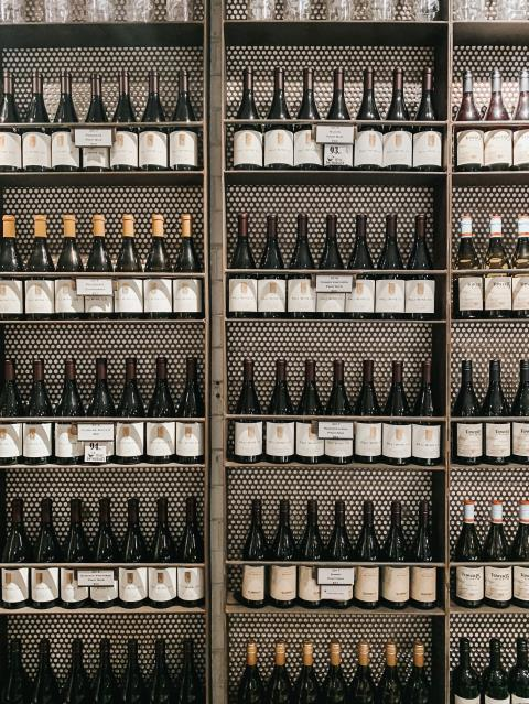 If the wine cellar is too humid, the bottle labels can spoil easily, and in severe conditions, the fungus can start growing. The best option is to use air conditioning.