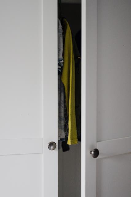 Custom closets utilizes wall space more effectively.