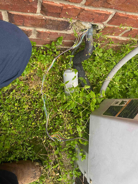 Lexington, KY - Repaired low voltage short inside outdoor ac unit