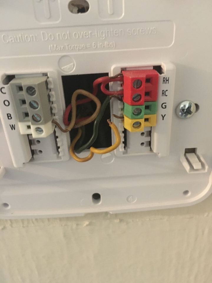 Lexington, KY - Repairing thermostat wire on heating and air system