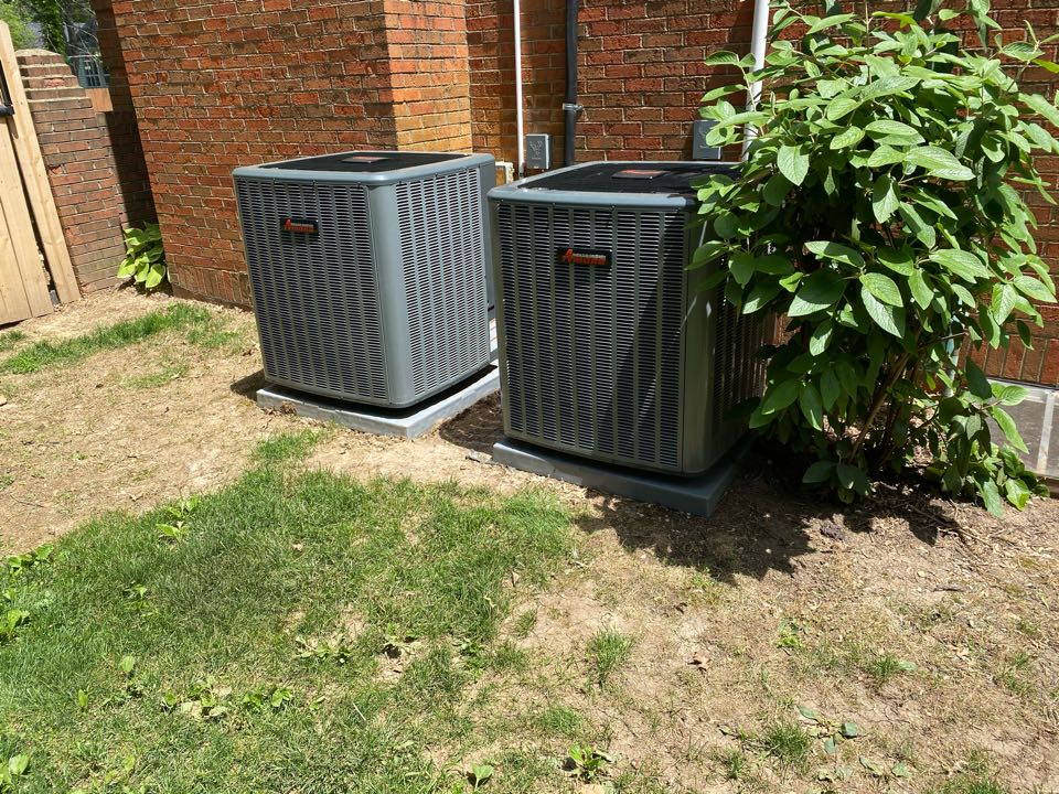Lexington, KY - (2) new 18 seer Airconditioners and furnaces with I wave air cleaners installed for an awesome family.