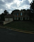 Dale City, VA - Roof replacement from hail damage using CertainTeed Landmark burnt sienna architectural shingles.