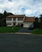 Dale City, VA - Roof replacement from hail damage using CertainTeed Landmark resawn shake architectural shingles.