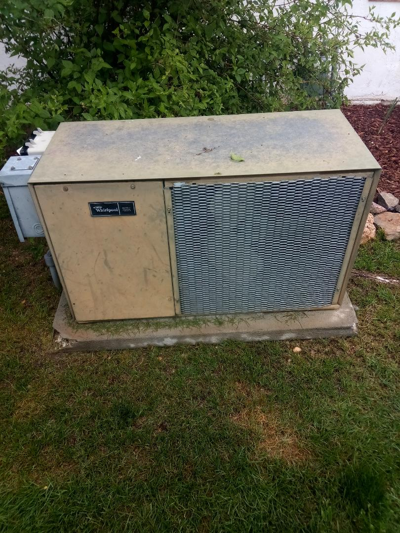 Greeley, CO - Replace whirlpool ac in Greeley