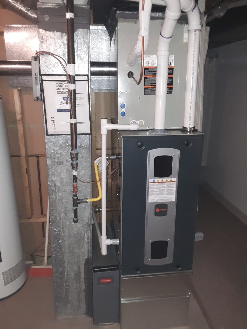 Greeley, CO - Install Trane two stage variable speed furnace and Tran single stage AC and Mars surge protector in Greeley