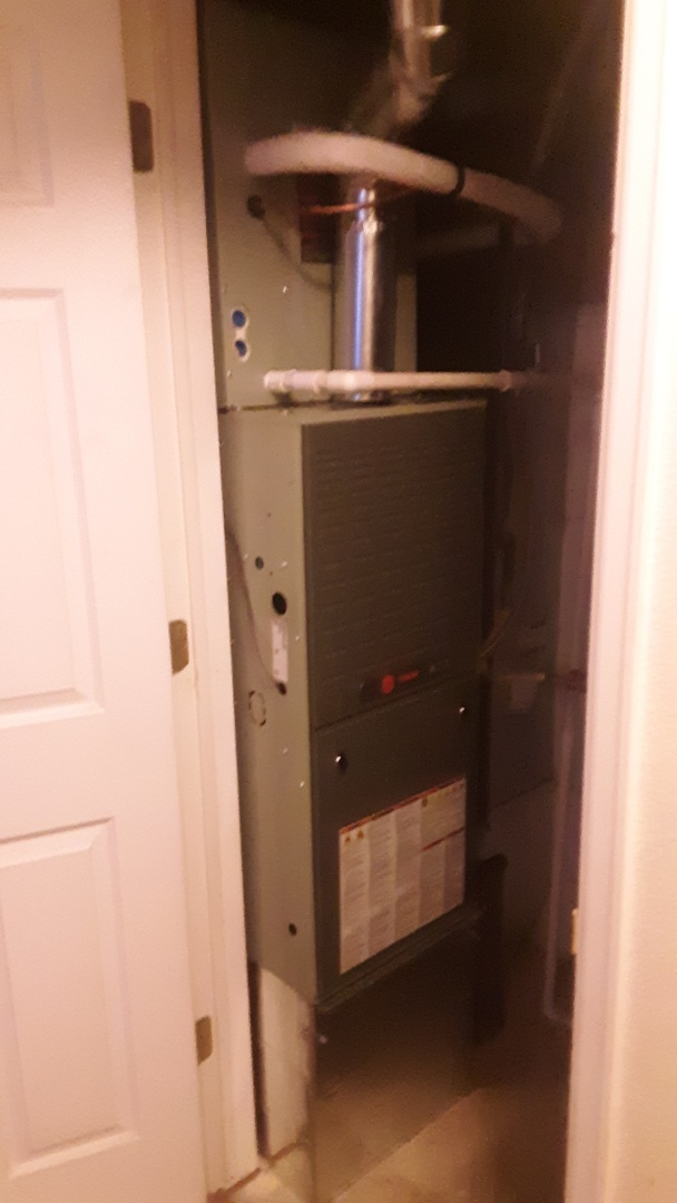 Fort Collins, CO -  install train 80% efficient furnace and Trane AC in Fort Collins