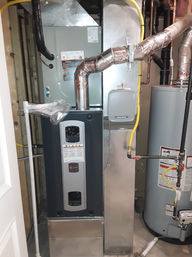 Evans, CO - Install Trane two stage 80% efficient furnace and Trane AC in Greeley