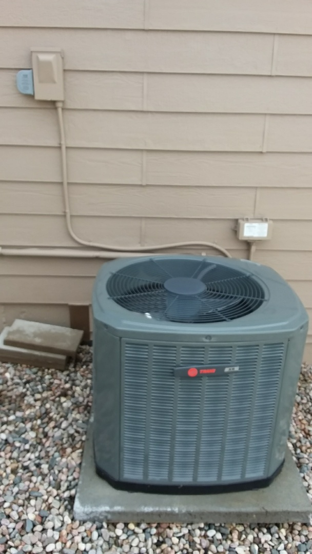 Severance, CO - Spring tune up and surge protector installed in Trane AC