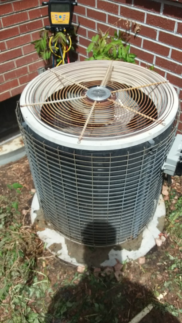 Greeley, CO - AC tune up performed on Amana AC