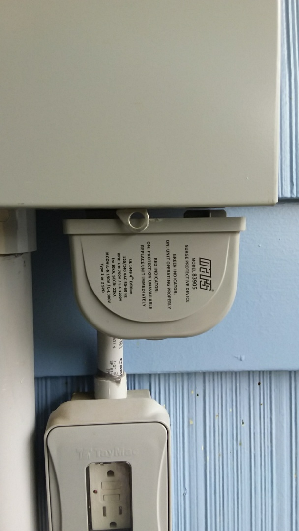 Greeley, CO - Annual AC tune up performed on Trane system. Surge protector installed