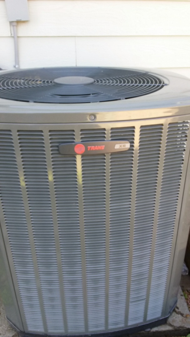 Evans, CO - AC tune performed on Trane equipment