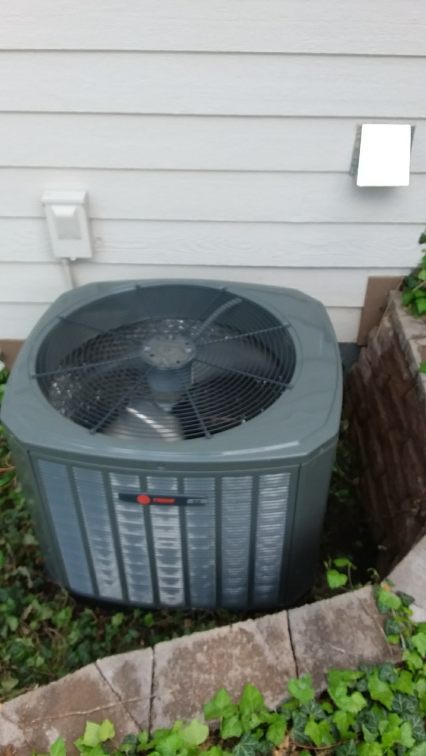 Greeley, CO - Annual AC tune up performed on Trane AC