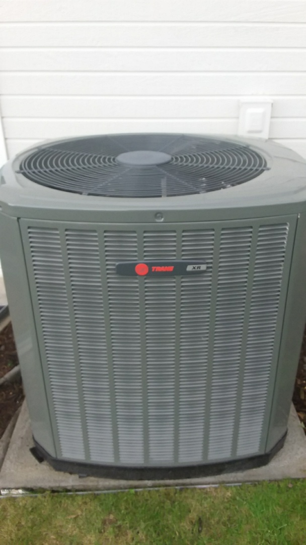 Johnstown, CO - Cleaning performed on Trane aC
