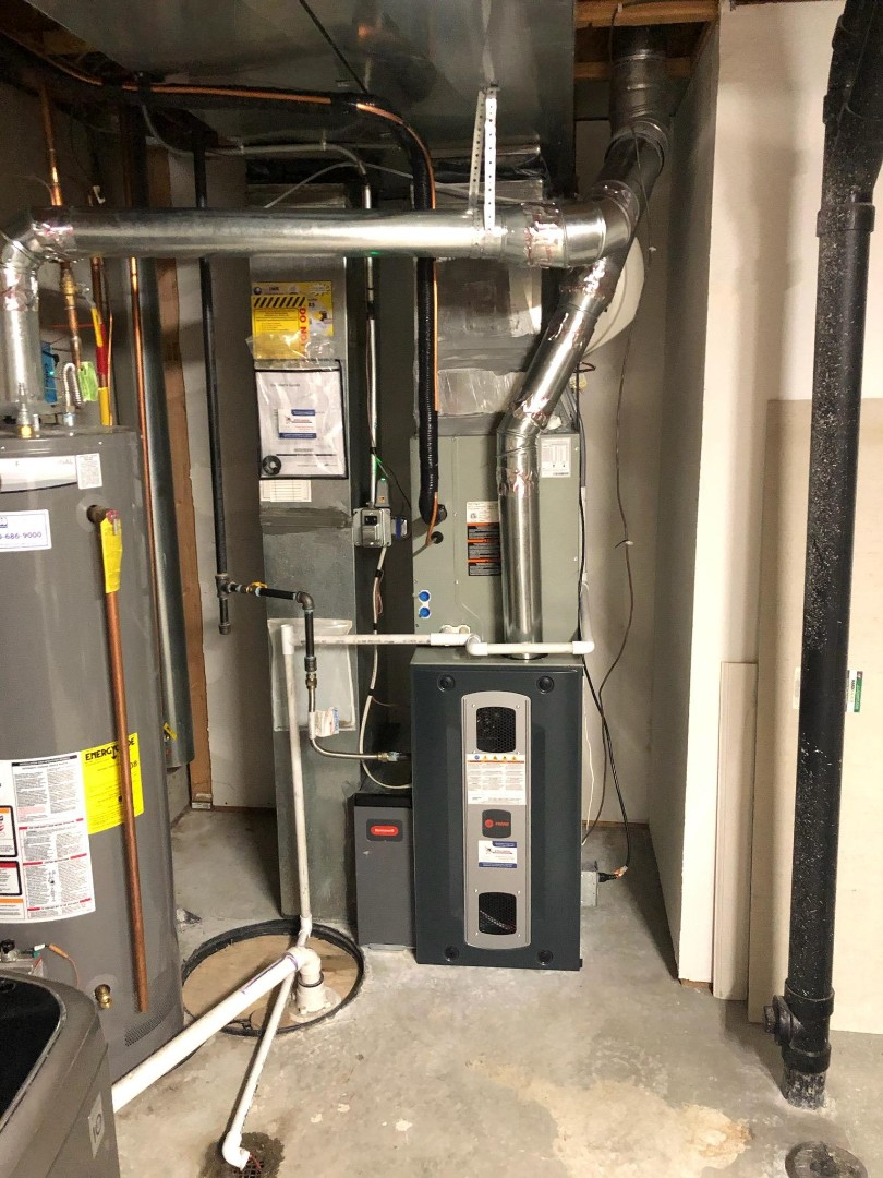 Kersey, CO - Install Trane 80% efficient furnace and Trane single stage AC in Greeley