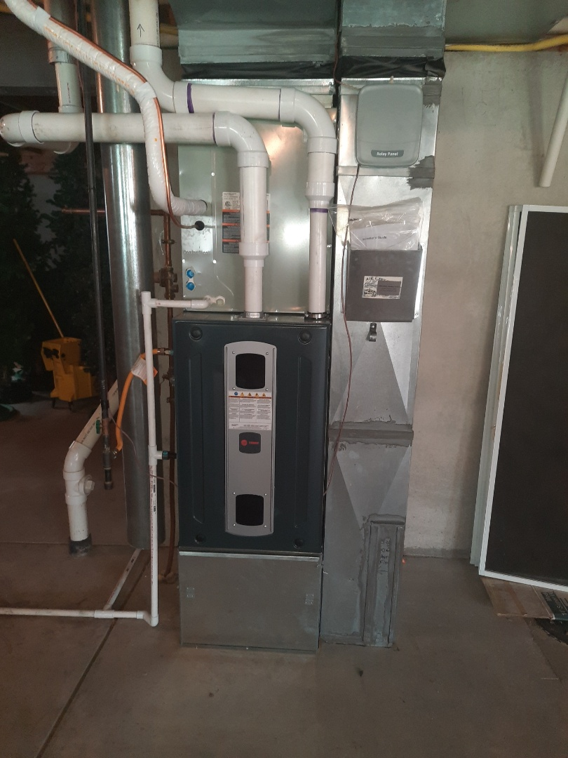 Greeley, CO - install Trane 2 stage variable speed furnace and Trane 2 stage AC in Greeley
