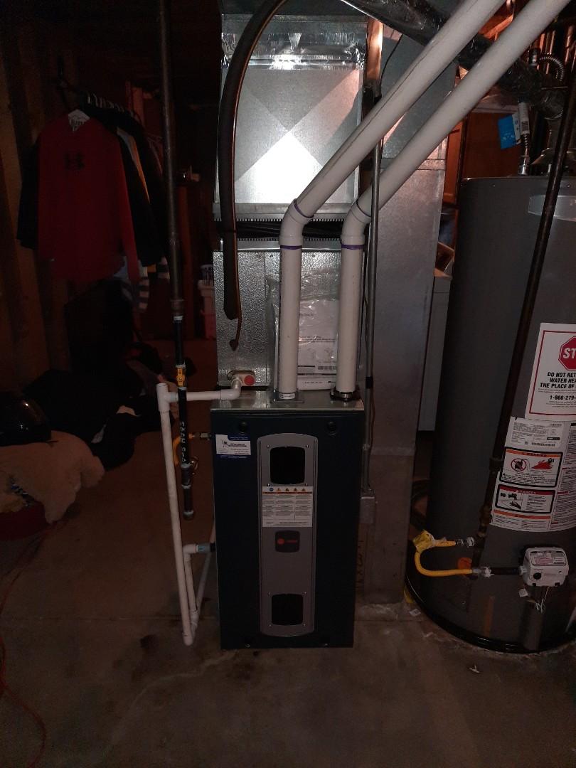 Windsor, CO - Install Trane 2 stage furnace in Windsor