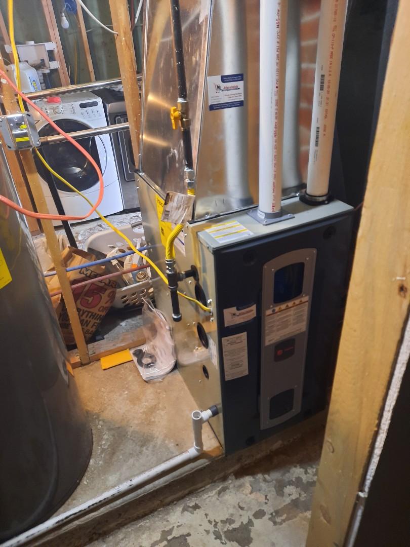 Pierce, CO - install Trane 2 stage furnace in nunn