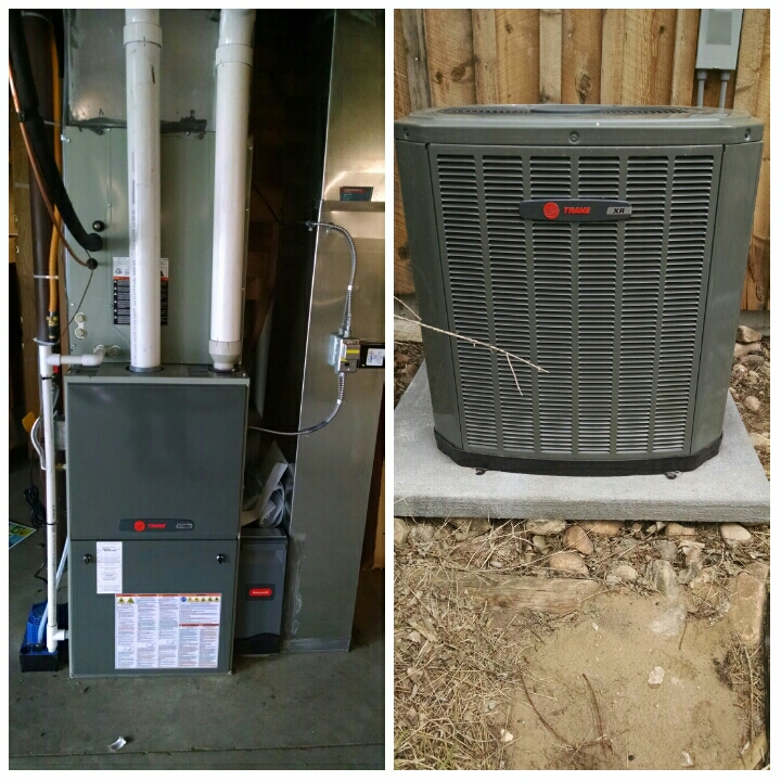 La Salle, CO - Install furnace and ac