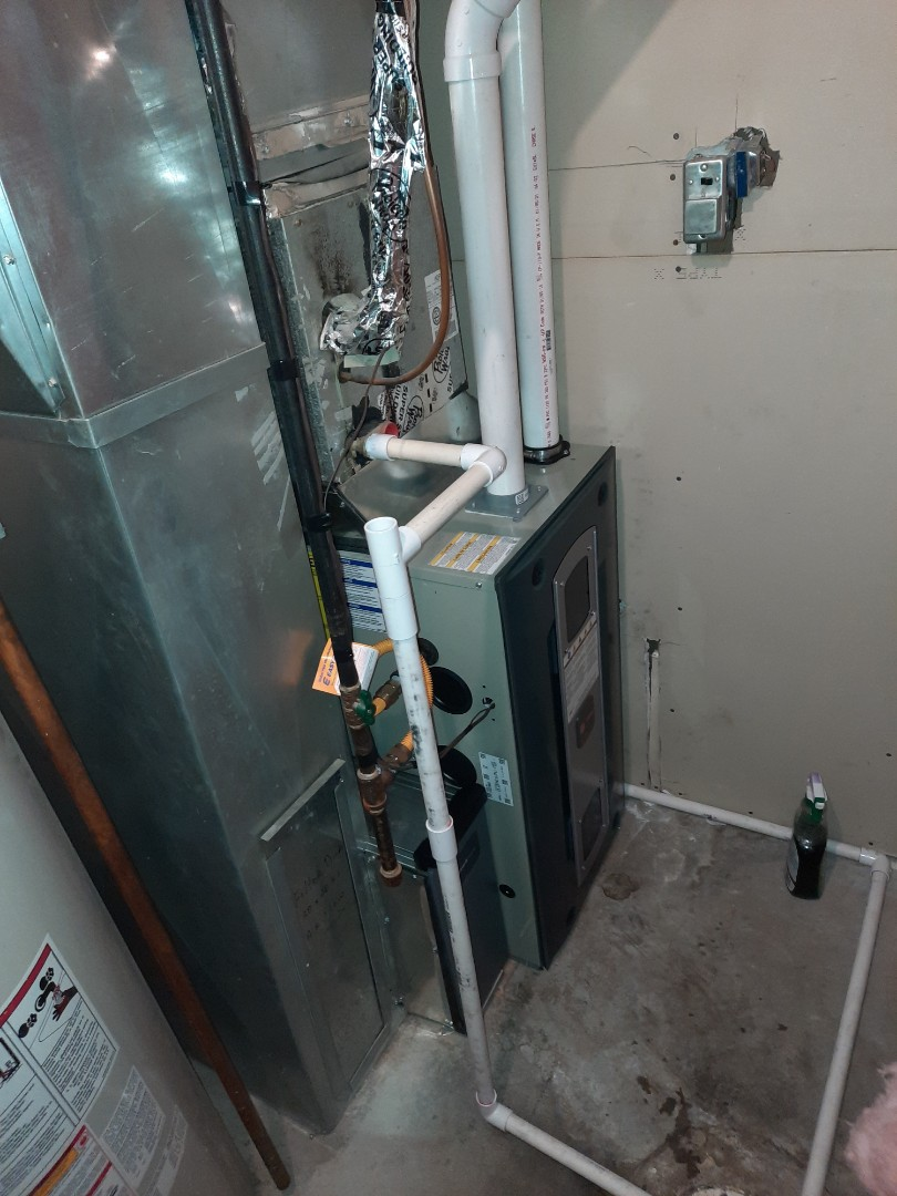 Greeley, CO - Install Trane High efficient furnace in Greeley