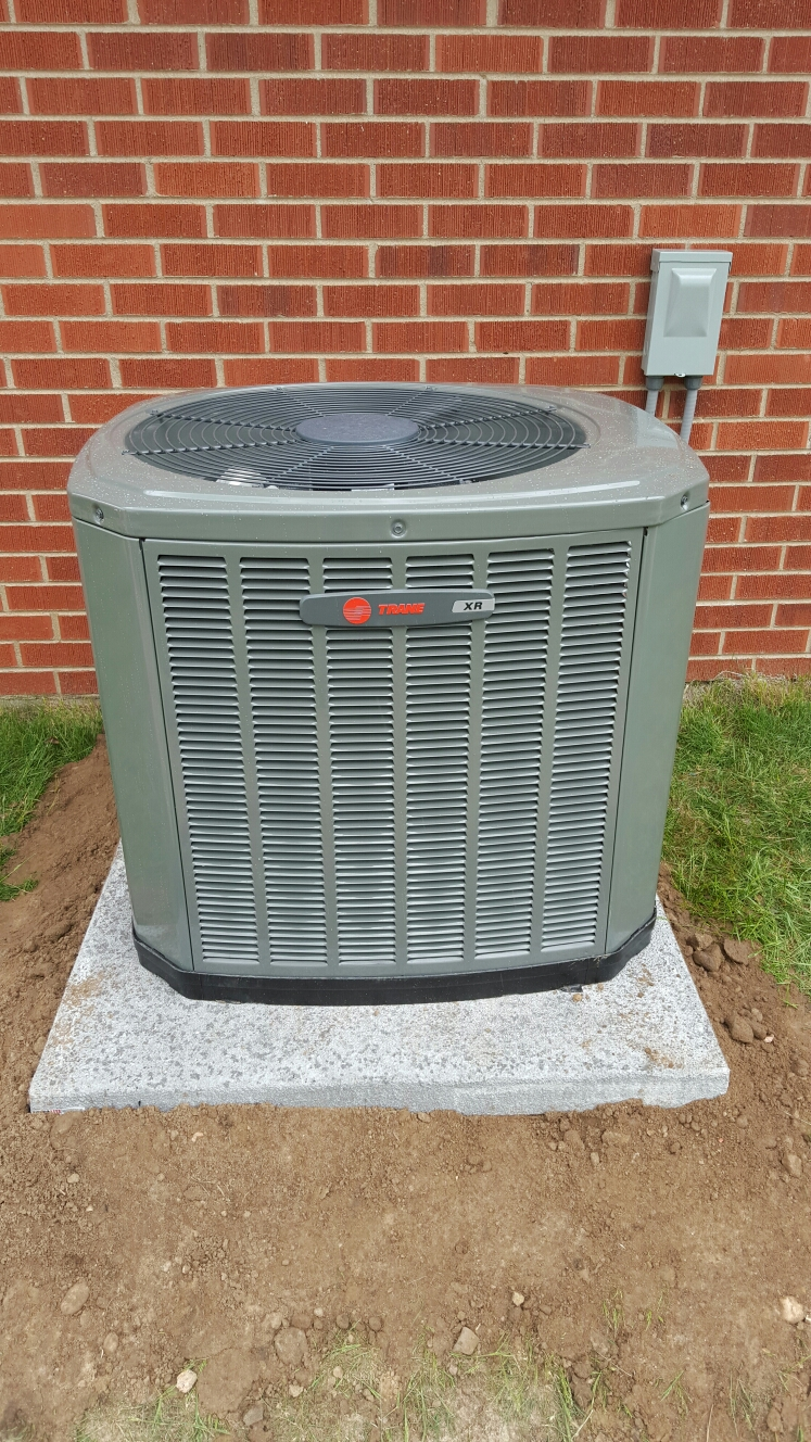 Kersey, CO - Trane AC install Kersey
