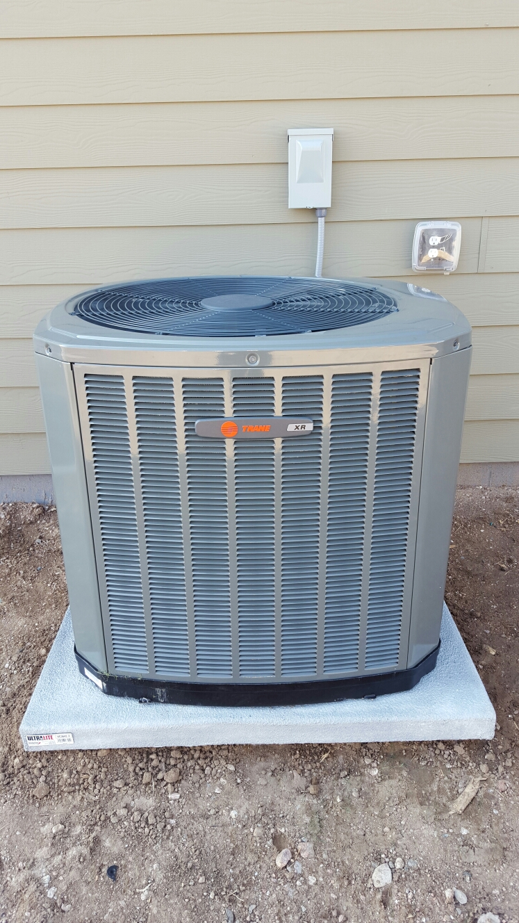 Pierce, CO - Trane AC install Pierce