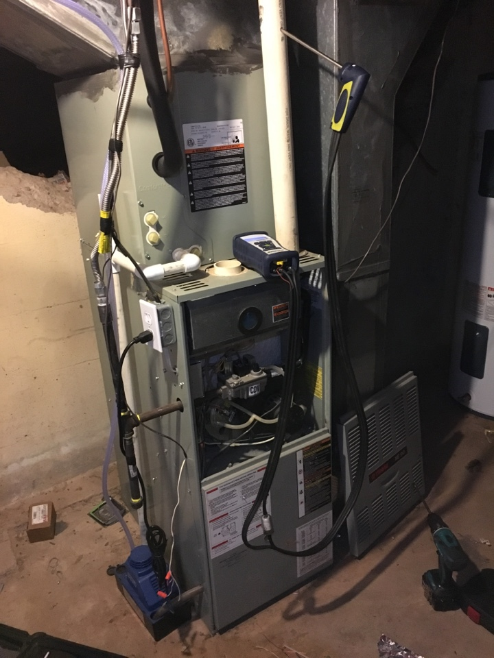 Timnath, CO - Furnace service and repair. Igniter fixed. Burners aligned. Orifices cleaned. Free estimate given due to age.
