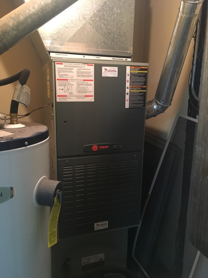 Lucerne, CO - Furnace service. Clean and check. Tuneup. Furnace in good working condition.