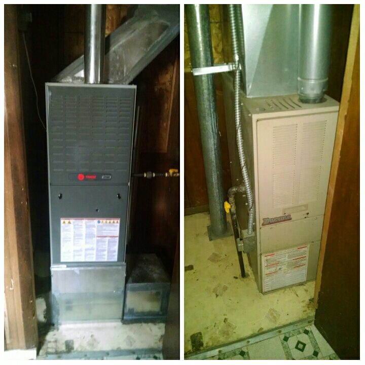 La Salle, CO - Installed new Trane furnace and Media filter